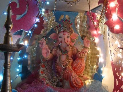 Disfrutamos juntos del festival de Ganesh en Bombay
