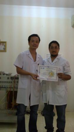 Dr. Dong y yo
