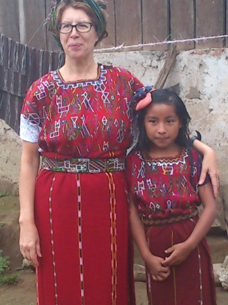 Nuestra Directora se viste de Ixil