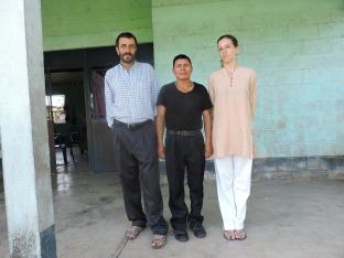 Promotor de salud de la comunidad de Pal comprometido con la acupuntura. Asiste a los tres proyectos ejecutados en Guatemala