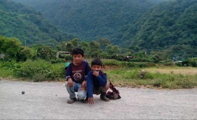 Niños de la Comunidad Unión Victoria, 2014