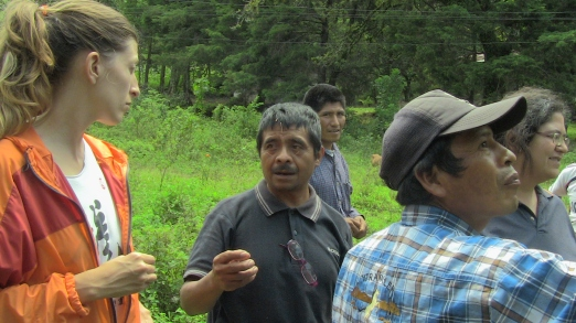 Intercambio cultural con los herboristas locales
