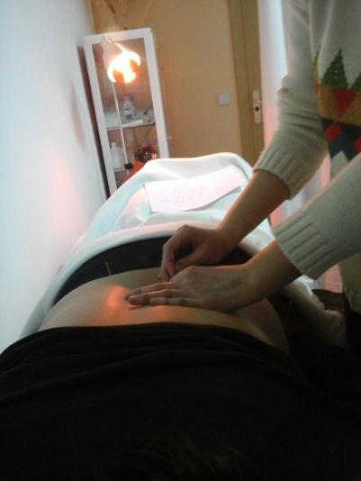 alumn@s en prácticas de acupuntura