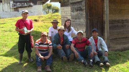 GUATEMALA, Primera capacitación en acupuntura descalza con los promotores de Salud de CPR-sierra