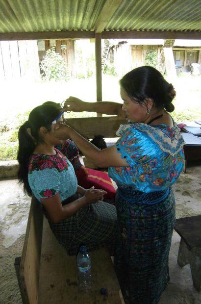 Estudiantes de nuestra capacitación en acupuntura