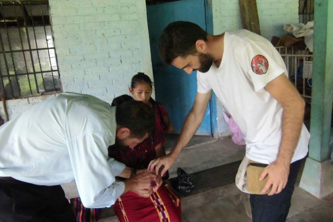 Reflexiones de un estudiante de ACUPUNTURA que nos acompaña aGuatemala