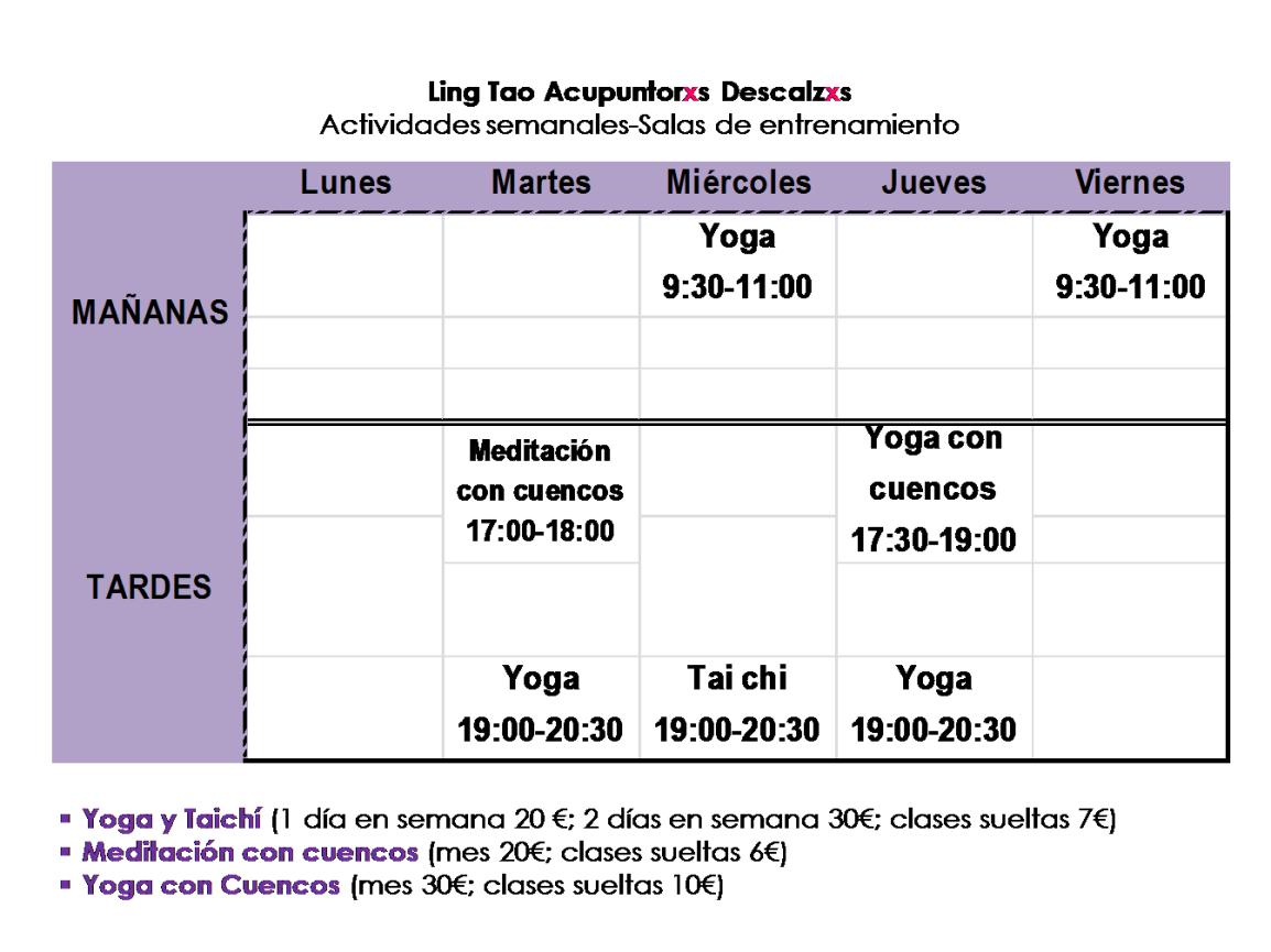 COMIENZAN LAS ACTIVIDADES SEMANALES en Alcázar de San Juan2017-2018