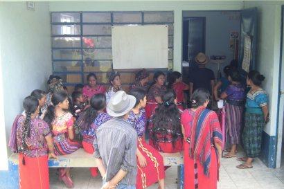 La sala de espera el día de consulta