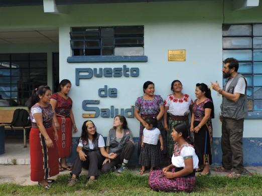 Catarina, Ana, Sara, Marta, Juana, Juana Cruz, Juana Cedillo y Paco . A.D.