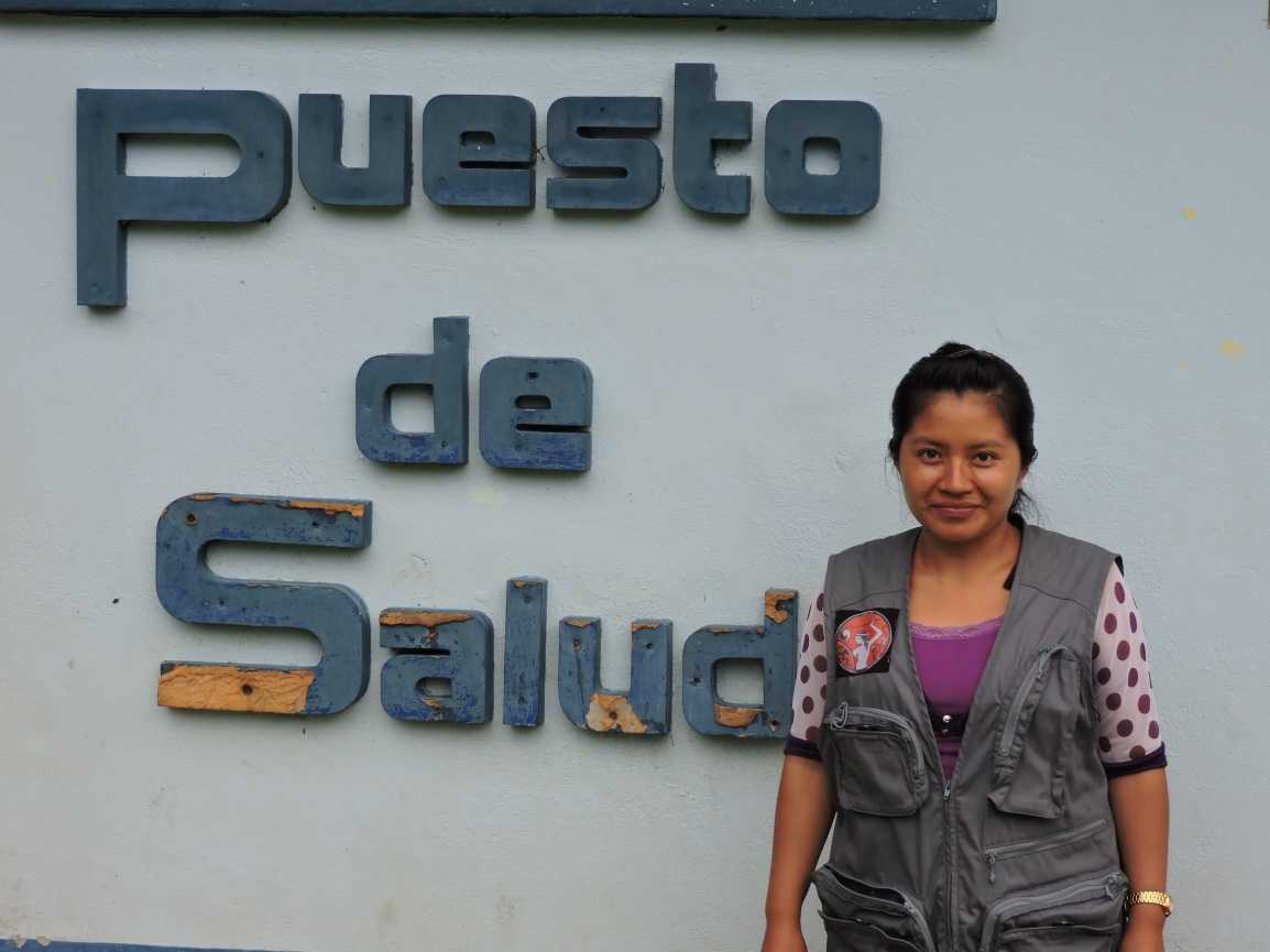 Las palabras de MAGDALENA MATOM. Acupuntora Descalza de las CPR enGuatemala